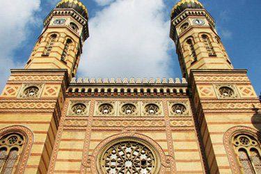 facciata grande sinagoga budapest